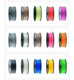 Fil Filament 3D Printer imprimante 3D ABS 1.75mm est 3.0mm Bobine 1kg