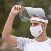 Visière de protection Rabattable anti-buée fabrication UE