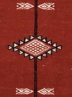 Tapis artisanal fait main 100% en laine