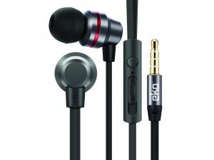 Écouteurs in-ear avec micro et télécommande - Noir