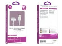 Câble de charge et synchronisation 30 broches - Blanc