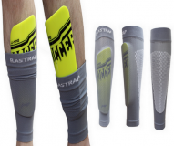 Football rugby maintien protege tibia protection fixation et blocage - bandage mollet manchons el...
