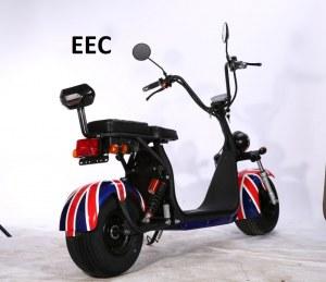 EEC Scooter électrique Citycoco 1000w 60v 12Ah