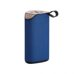 Enceinte bluetooth sans fil 10W Extra Bass--Bleu