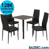 Ensemble de table pour salle à manger cinq pièces LIVRAISON GRATUITE