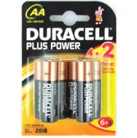 DURACELL POWER PLUS AA (4+2)