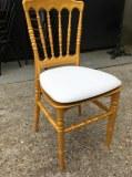Chaise Napoléon 3 dorée en polypropylène