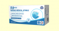 MASQUE CHIRURGICAL Type IIR TBE>99% MADE IN FRANCE