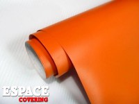 Film Vinyl Orange Mat sans bulle d'air