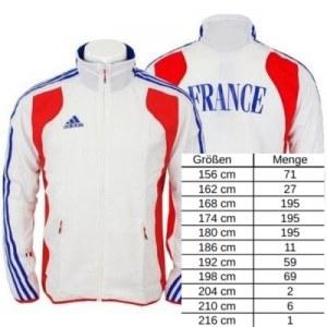 "Stocklot - adidas ""FRANCE"" Jackets - Équipe Tricolore"