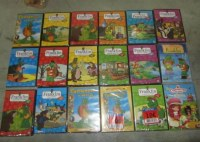 Lot de 23500 DVD Franklin séries jeunesse NEUF