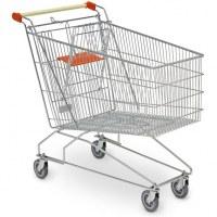 Chariot de magasin libre service