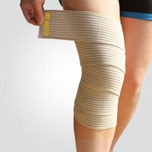 Elastrap Bande Bandage Genou Strapping élastique à scratch - Genouillère de protection...