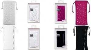 Pochette smartphones ornée de cristaux SWAROVSKI ELEMENTS