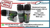 Déodorant homme( Green gragon et action power ) 200 ml