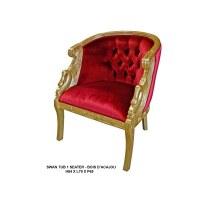 Destockage fauteuil baroque
