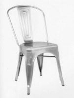 Importateur grossite chaise metal argent