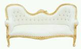 Canapé Mariage et Chaise crystal transparente
