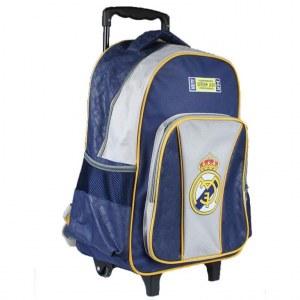 Trolley Real Madrid très pratique pour la rentrer