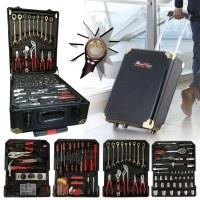 Caisse - Valise - Malette à outils 256 pièces chrome vanadium STAN