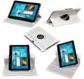 LOT REVENDEUR 360°Rotation Housse Etui Coque Pour Samsung Galaxy Tab 2 10.1 P5