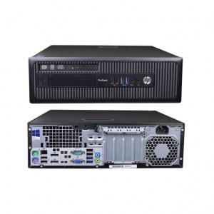 UNITE CENTRALE - PC BUREAU - PRODESK 600 G1 SFF I7 16GO 256GO SSD W10
