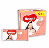 Huggies lingettes bebe 56pc Pure /natural care/soft skin