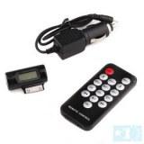 Transmetteur FM & télécommande et chargeur pour iPhone / iPod