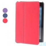 Peau Tissu Cuir PU Case avec support pour iPad mini