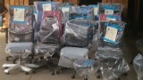 Lot de 40 chaises de bureau de marque BRUNEAU