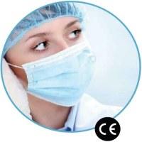 Masques Chirurgicaux Medicaux EN14683 Type IIR/Masques FFP2