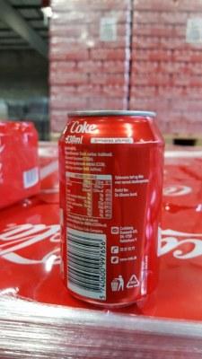 Coca-Cola 33cl Danois