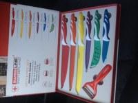 Couteaux revêtement céramique swiss