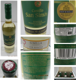 Vin blanc Castillo san simon