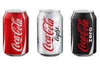 Lot de canette coca cola