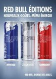 Red bull red blue et silver