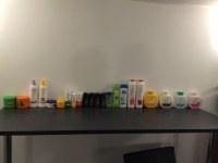 Lot cosmétiques ( gel douche, shampoing, crème, etc... )