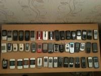 Lot de 100 telephones portables