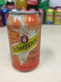 Shweppes Agrum (Citrus Mix) ou Lemon canette 33cl
