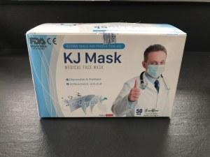 Masques Chirurgicaux Type IIR EN14683 filtration > 99% boite de 50