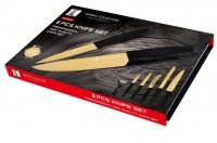 Set de couteau 6pcs TITANIUM GOLD SWISS