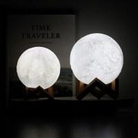 Lampe de chevet decoration intériere lune 16 couleurs