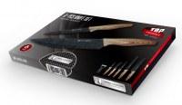 Set de couteau Revetement céramique ( Inclus Couteau Pizza + Econome )