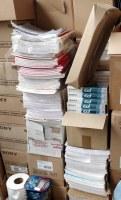 Lot 500 cahiers A4 et A5 grands carreaux