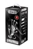 Set de couteau 8 piéces sur support Kitchen Line Swiss