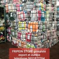 Magasin d'usine en direct de friperie export PARIS et NIMES balles grade A et balles...