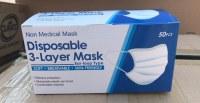 Masques de protection 3 plis