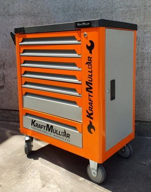 KRAFTMULLER SERVANTE D ATELIER 7 TIROIRS KM-7/7- 582 PCS