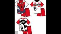 Ensembles fluorescents pour enfants sous licence Cars Mickey Spiderman