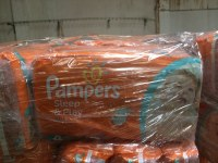 LOT DE COUCHES PAMPERS